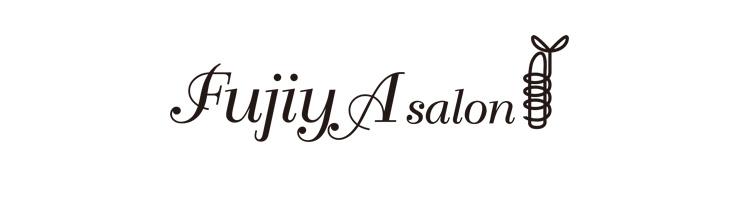FujiyA salon ロゴデザイン